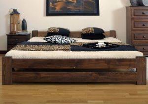 Łóżko LOOK orzech 2 meblearkadius