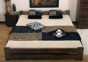 Łóżko LOOK orzech 3 meblearkadius