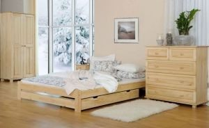 Łóżko LOOK sosna 1 meblearkadius