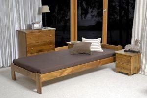 Łóżko NAT 90 dąb 1 Meble Arkadius