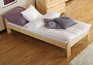 Łóżko NAT 90 sosna 2 Meble Arkadius