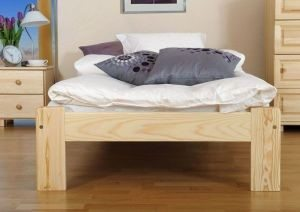 Łóżko NAT 90 sosna 3 Meble Arkadius