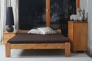 Łóżko NAT olcha 1 Meble Arkadius