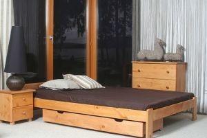 Łóżko NAT olcha 2 Meble Arkadius