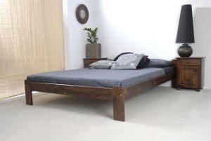 Łóżko NAT orzech 1 Meble Arkadius