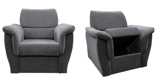 FERDYNAND - wygodny fotel do czytania 24