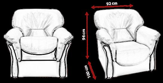 Fotel HANNA 1 meblearkadius_pl