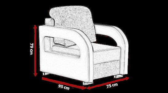 Fotel LARA 1 meblearkadius_pl