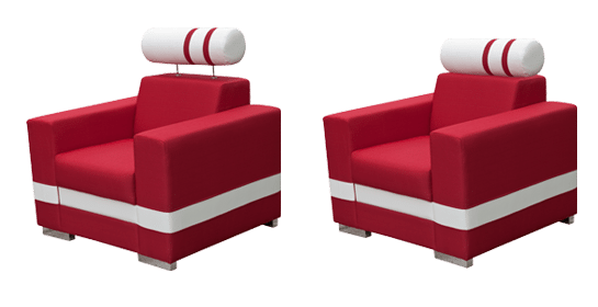RICO - fotel z zagłówkiem 92