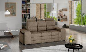 VICTORY - kanapa z chowanymi pufami sofa z funkcją spania 4
