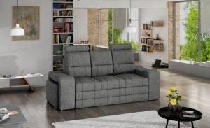 VICTORY - kanapa z chowanymi pufami sofa z funkcją spania 2