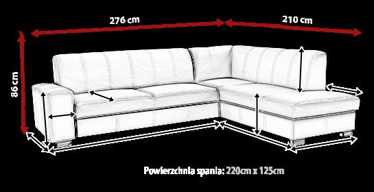 Narożnik SIMOUR 6 meblearkadius_pl