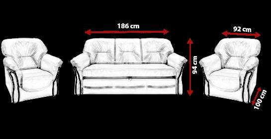 Sofa HANNA 7 meblearkadius_pl