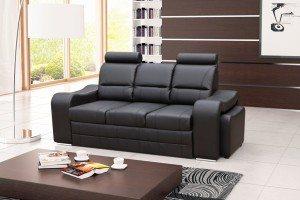 VICTORY - kanapa z chowanymi pufami sofa z funkcją spania 7