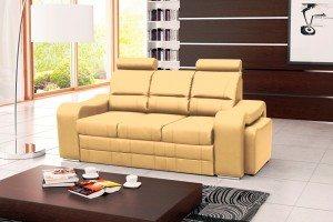 VICTORY - kanapa z chowanymi pufami sofa z funkcją spania 9