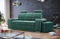 VICTORY - kanapa z chowanymi pufami sofa z funkcją spania 19