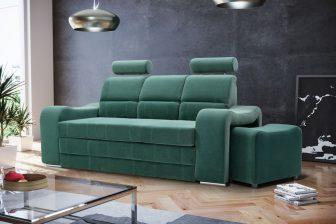 VICTORY - kanapa z chowanymi pufami sofa z funkcją spania 16