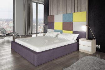 HELEN 140 - łóżko tapicerowane z zagłówkiem 5