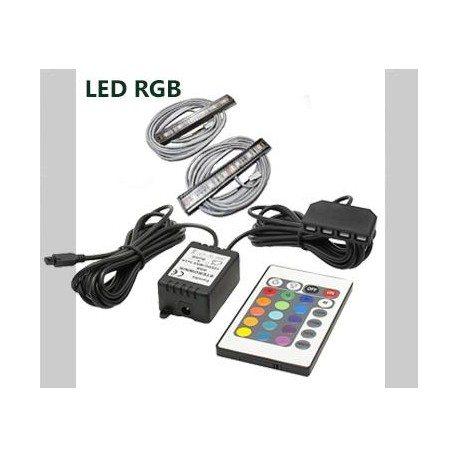 Oświetlenie LED 16 kolorów 5