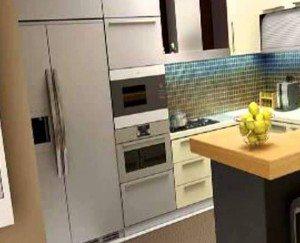 meble w małej kuchni