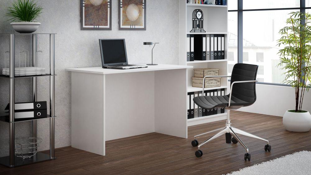 BASIC - biurko białe 4