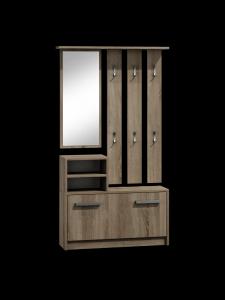 DIANA - garderoba z lustrem trufla 2