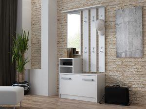 DIANA - biała garderoba do przedpokoju 3