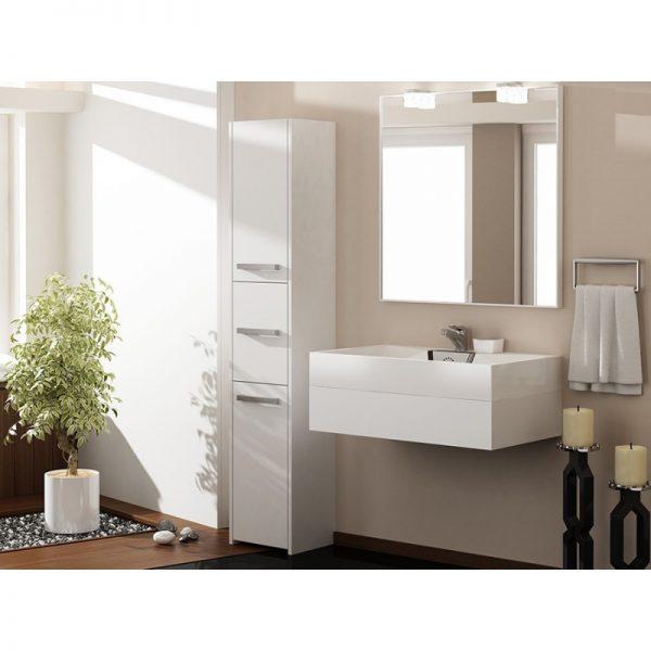 PROVENCE 43S - słupek łazienkowy biały 1