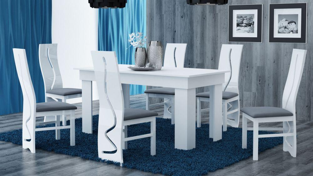 MATRAS - stół do salonu biały 7
