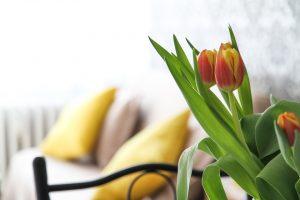 Wystrój wnętrza na wiosnę