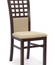 Krzesło GERARD 3 ciemny orzech/beige 1