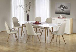 EDWARD - stół rozkładany do salonu 3
