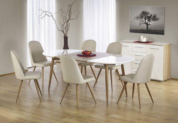 EDWARD - stół rozkładany do salonu 1