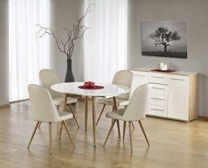 EDWARD - stół rozkładany do salonu 2