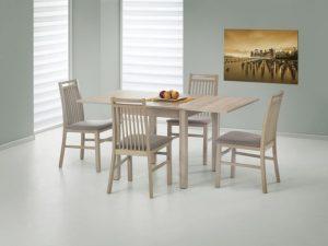 GRACJAN - stół rozkładany dąb sonoma 2