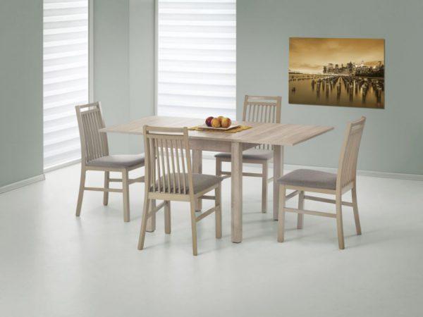 GRACJAN - stół rozkładany dąb sonoma 1