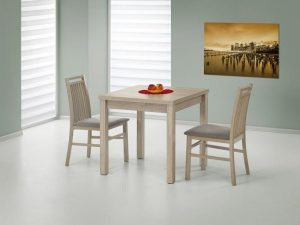 GRACJAN - stół rozkładany dąb sonoma 3