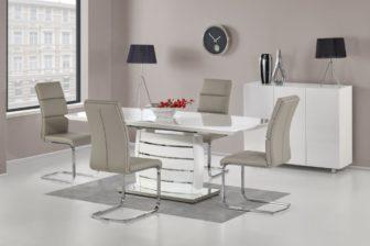 ONYX - stół do salonu biały połysk 6