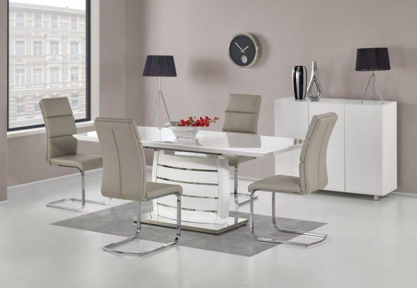 ONYX - stół do salonu biały połysk 1