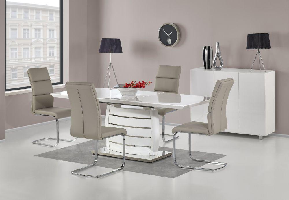 ONYX - stół do salonu biały połysk 2
