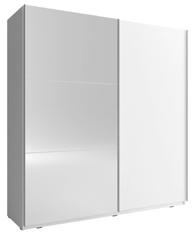 MIXA 2/150 – duża szafa przesuwna z lustrem KOLOR BIEL/SONOMA 4