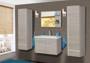 KATRINA - meble łazienkowe wiszące różne kolory 6