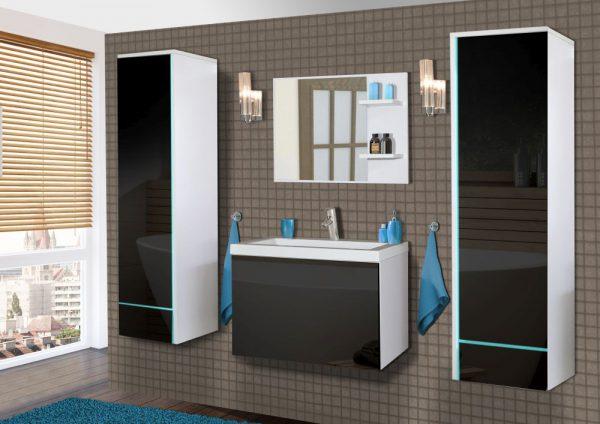 KATRINA - meble łazienkowe wiszące różne kolory 1