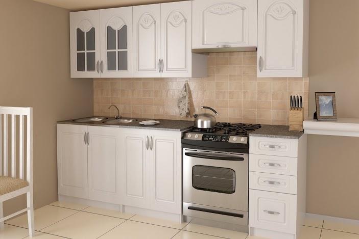 AGATHA - meble kuchenne klasyczne 2,4m lub na wymiar 2