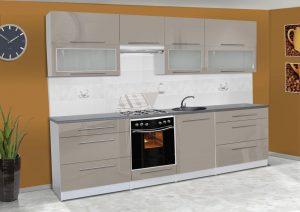 Meble kuchenne ALICJA połysk - różne kolory 2,8m lub na wymiar 6