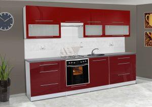 Meble kuchenne ALICJA połysk - różne kolory 2,8m lub na wymiar 5