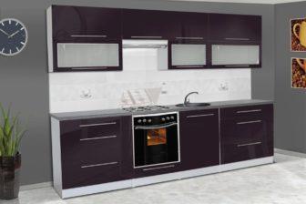 ALICJA - meble kuchenne połysk - różne kolory 2,8m lub na wymiar 7