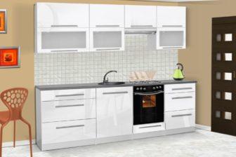 Meble kuchenne LOLA połysk - różne kolory 2,6m lub na wymiar 18