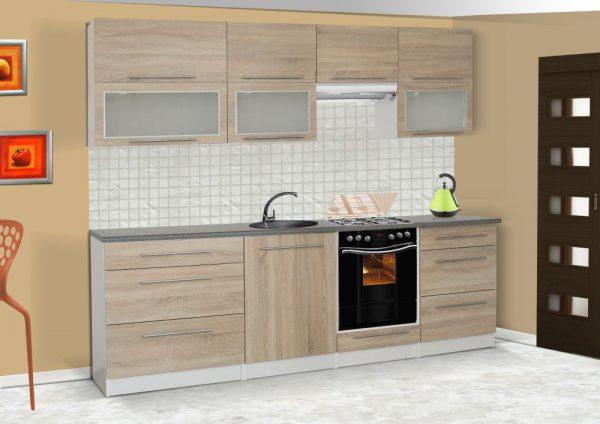 LOLA mat - meble kuchenne pod zabudowę różne kolory 2,6m lub na wymiar 1