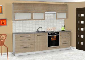 LOLA mat - meble kuchenne pod zabudowę różne kolory 2,6m lub na wymiar 7